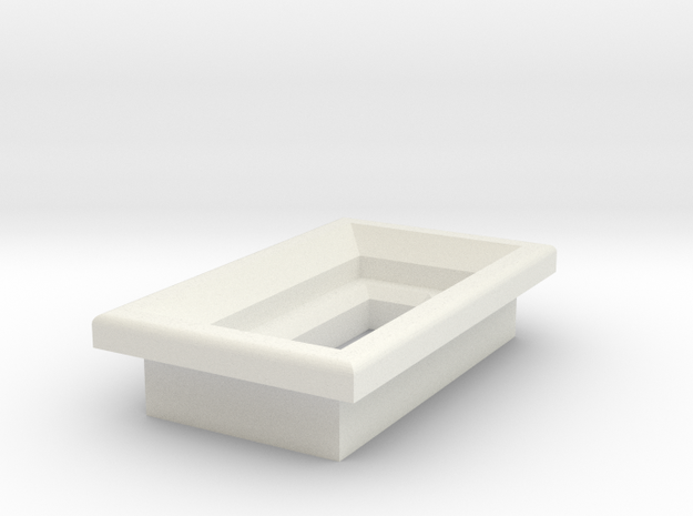 MicroUSB Square Bezel 3d printed