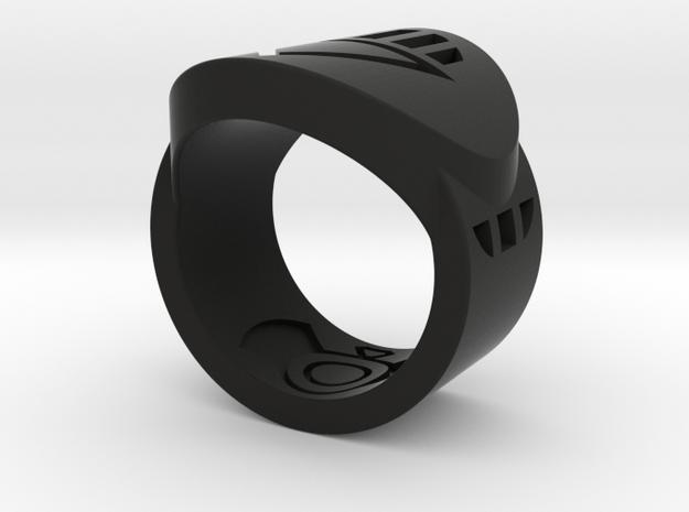 Death FF Ring Sz 5 3d printed Custom Enameled