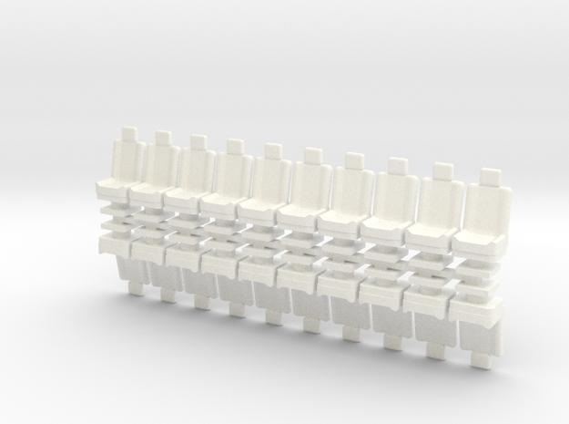 15mm Standard Seats x20 3d printed