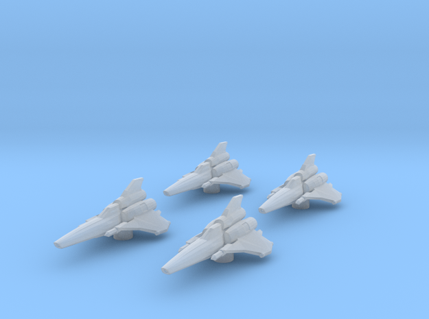 4x Colonial Viper Mk II 1/270