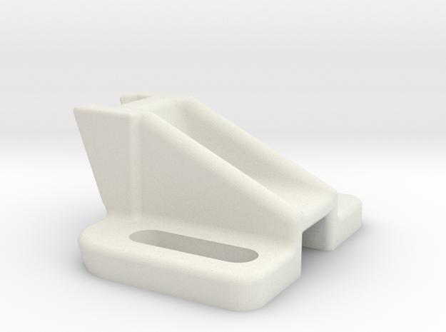 Hall Sensor Mount in White Natural Versatile Plastic