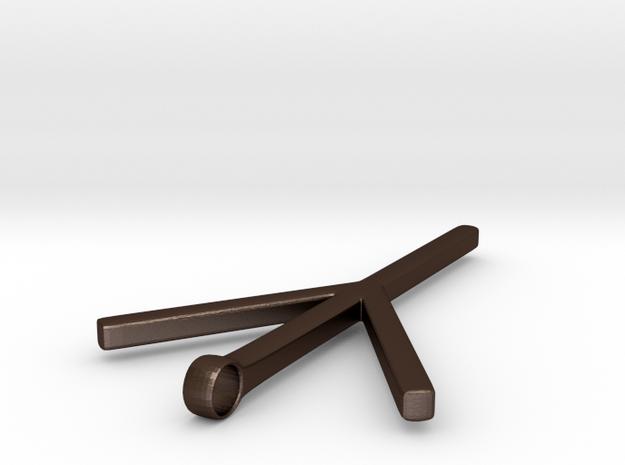 Algiz Rune 3d printed