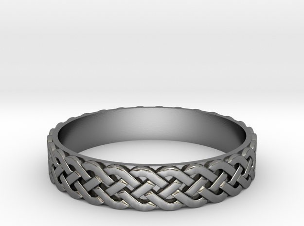 Celtic ring 01 3d printed
