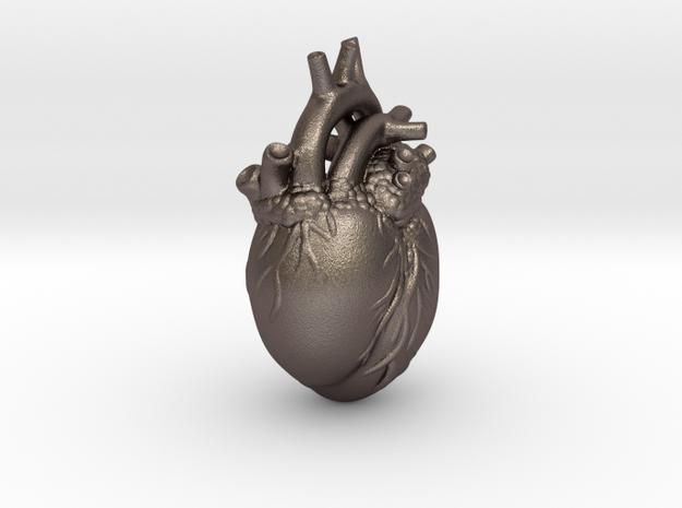 Kardia Heart Pendant 3d printed