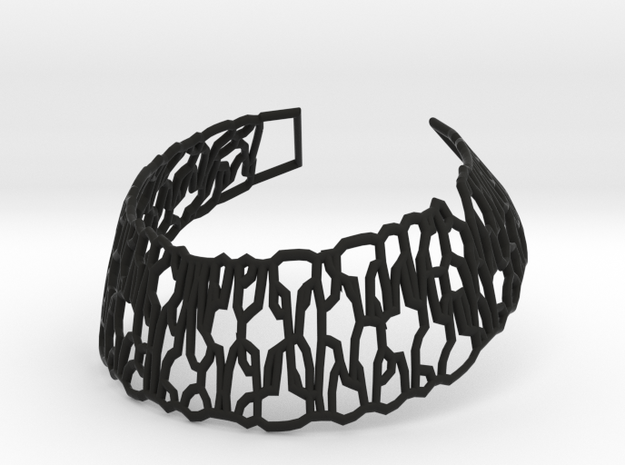 Collar Necklace -Steel - Sh02-min-sq in Black Natural Versatile Plastic