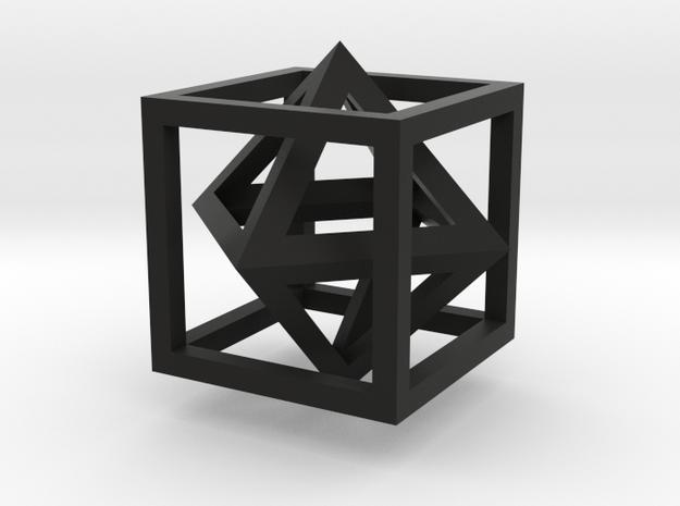 Platonic Dual 3d printed