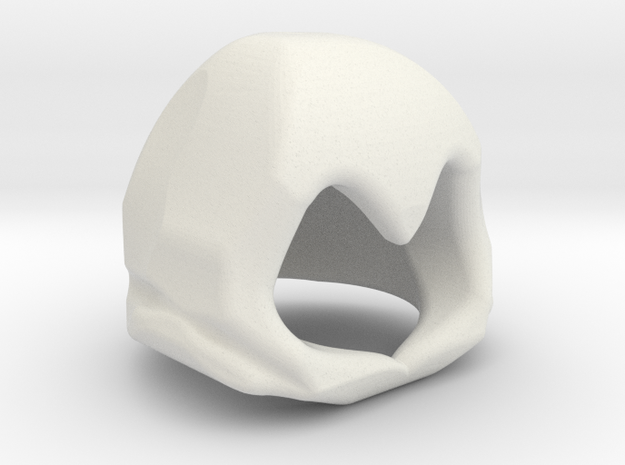 Wide Pointed Hood 3d printed