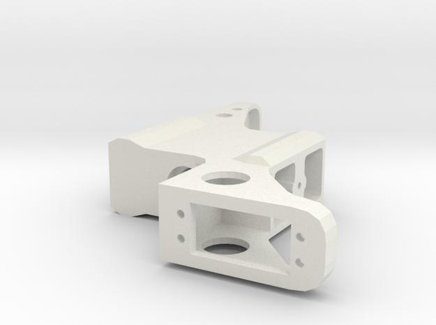 Fras Servo Support in White Natural Versatile Plastic
