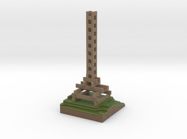 Regloh's Tower in Full Color Sandstone