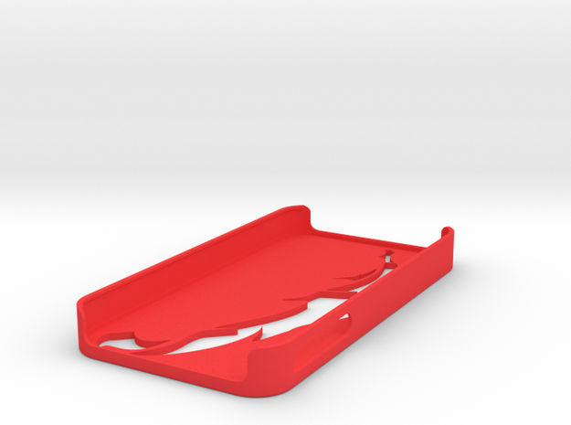 iPhone 4 / 4s Case - Feather 3d printed