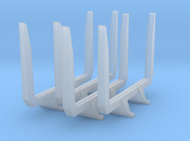 1/50th scale 'short logger' log bunks, angle top
