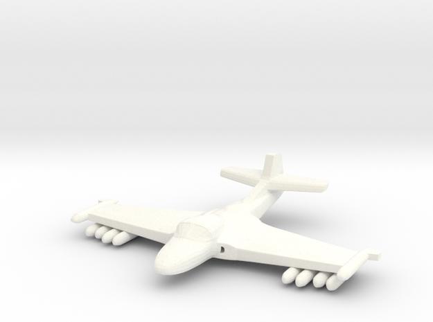 1/285 (6mm) A-37 Dragonfly w/Ordnance 3d printed