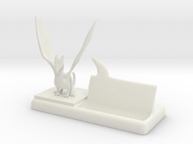 mr dragon says plastic business card holder