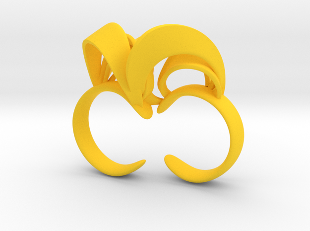 Ribbon Double Ring 7/8 3d printed