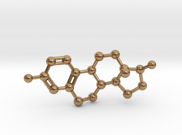 Estrogen (Estradiol) Molecule Pendant BIG 3d printed