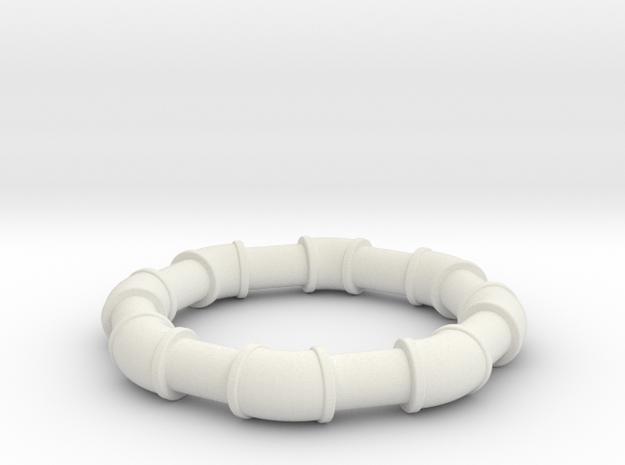 2  ell 45 in White Natural Versatile Plastic