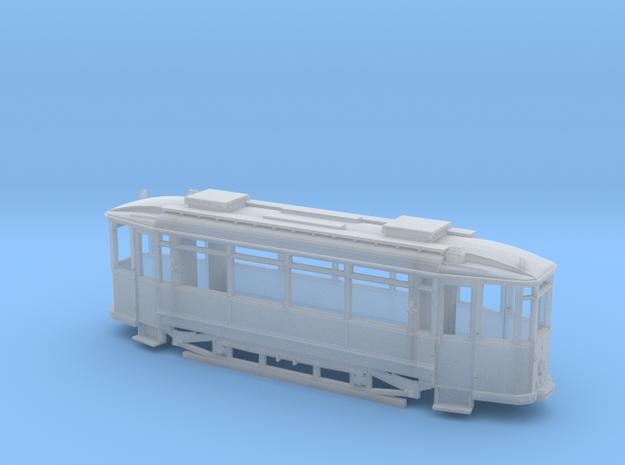 Tramtriebwagen Waggonfabrik Lindner Spur H0m (1:87 3d printed