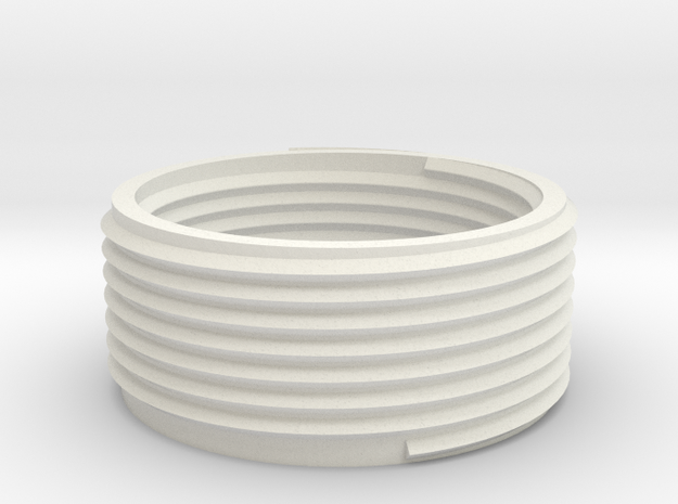 Adapter ring for Starfish lamp 20mm height E27 3d printed