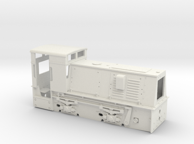 Feldbahnlok HF50b Spur 0e/f Quarzwerk Horrem (1:45 3d printed
