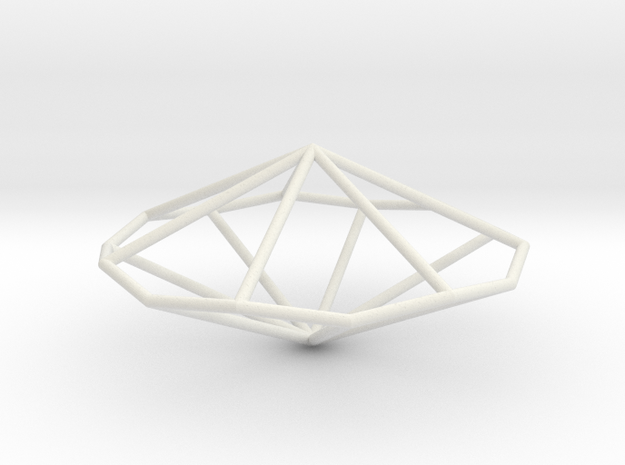 HeptagonalTrapezohedron 70mm 3d printed