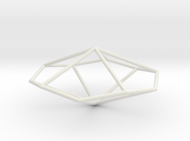 PentagonalTrapezohedron 70mm 3d printed