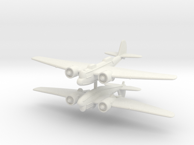 1/300 Martin B-10 (x2) in White Strong & Flexible