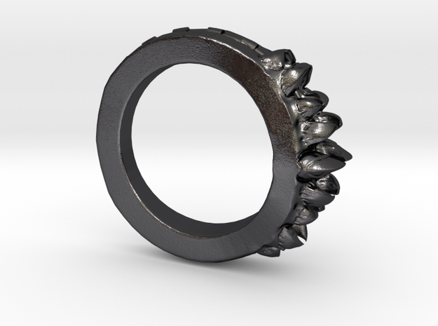 Alien Bite Ring 3d printed