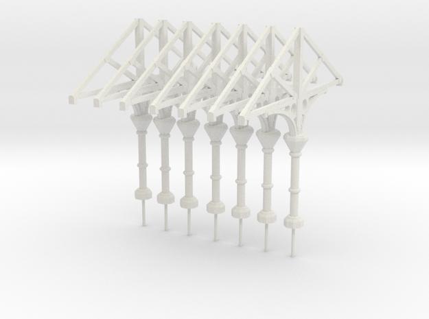 C1 X 7 Scaled in White Natural Versatile Plastic