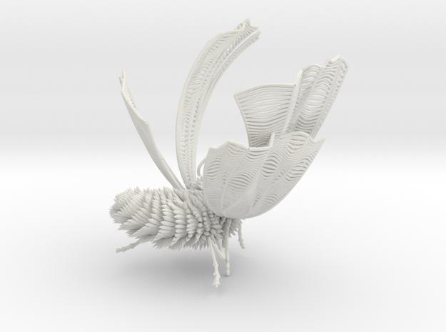 Tree (48).obj in White Natural Versatile Plastic