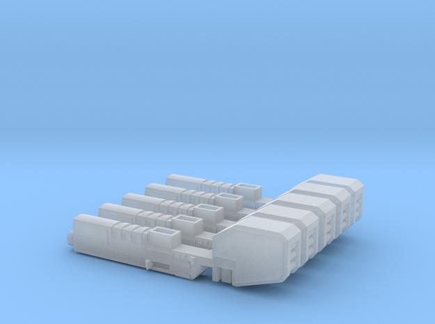Heavy Machine Gun in Smooth Fine Detail Plastic