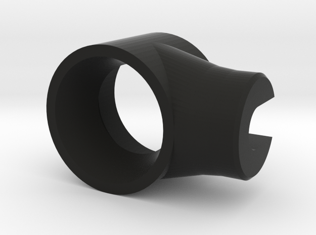 Recurve Archery Aperture 12.5mm in Black Natural Versatile Plastic