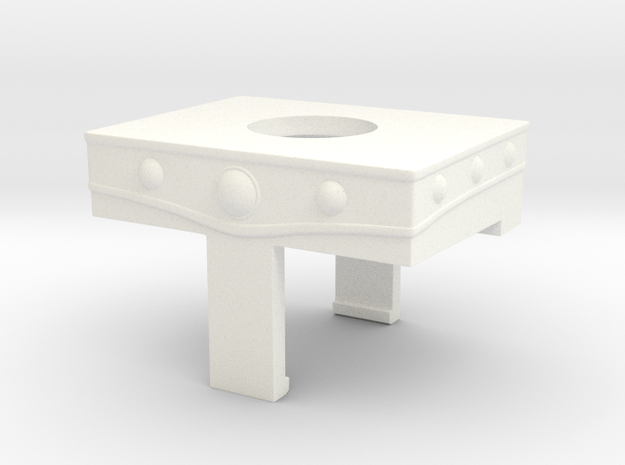 MOTU belt for minimate w/ boxy groin 3d printed