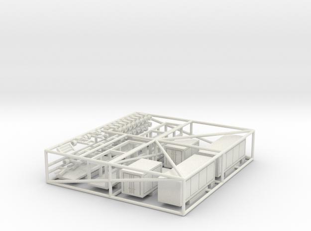 Set Fuhrpark 8 m für 1:160 (n scale) 3d printed