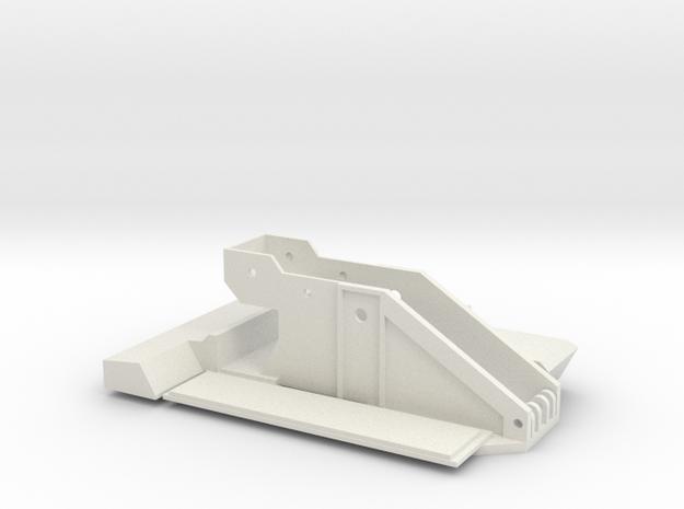 AMK86 Oberwagen in White Natural Versatile Plastic