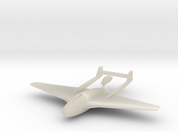 Aircraft-  DH 100 Vampire Mk I (1/144th) 3d printed