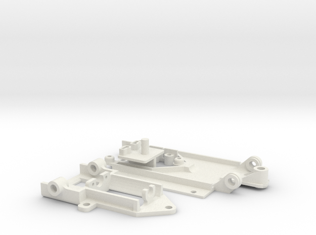 FF030 Pod Chassis CoCreator 3d printed