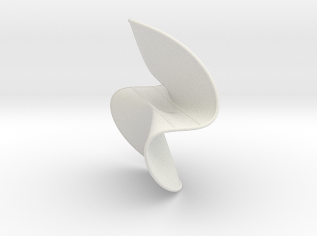 Cubic Surface KM 36 in White Natural Versatile Plastic