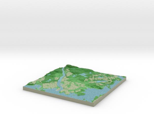 Terrafab generated model Fri Mar 21 2014 18:41:23 3d printed
