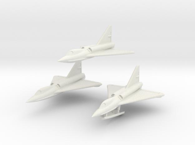 Convair F2Y 6mm 1/285 (Three seaplanes set) 3d printed