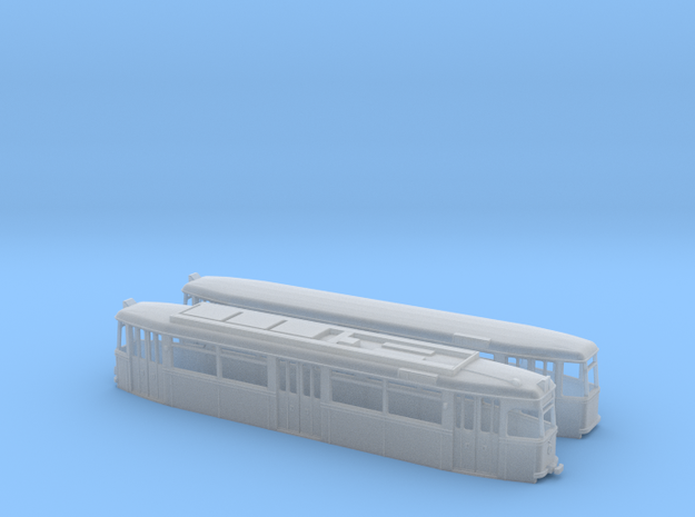 Gotha Großraumzug TW/BW-62 (1:87) 3d printed