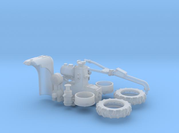 Holder 1-Achs-Schlepper 1:45 in Smooth Fine Detail Plastic