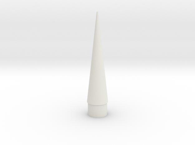Nose in White Natural Versatile Plastic