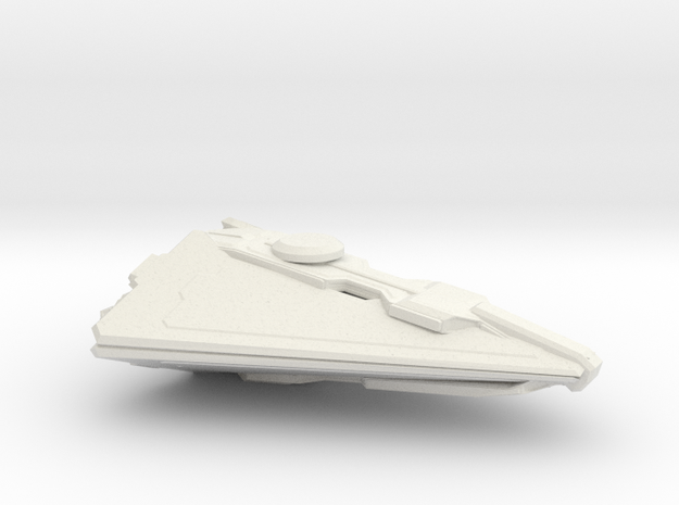 1/72 IISS SCOUT TRAVELLER in White Natural Versatile Plastic