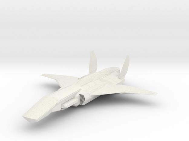 KESTREL INTERCEPTOR 1/72 in White Natural Versatile Plastic