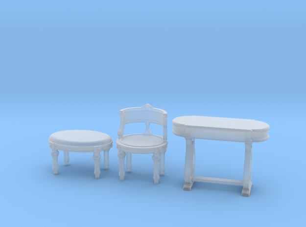 1:48 Vanity Set in Smooth Fine Detail Plastic
