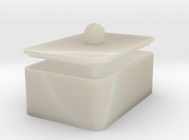MyBOX 4x6x2 cm in White Acrylic