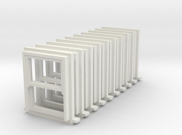 10 X 900 X 1200 Sash Window 3d printed