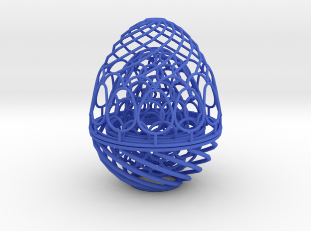 Nested Eggs 3d printed