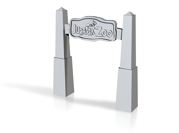 jurassic zoo 3d printed