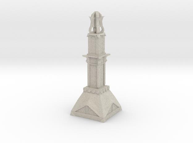 Temple Pillar in Natural Sandstone